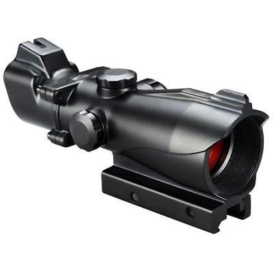 AR Optics 1x MP Red/Green T-Dot Riflescope - Black Matte