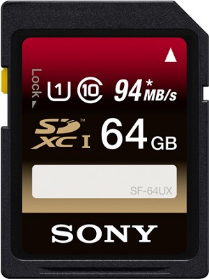64GB Secure Digital High Capacity (up to 94MB/s) SDXC Memory Card - Class 10