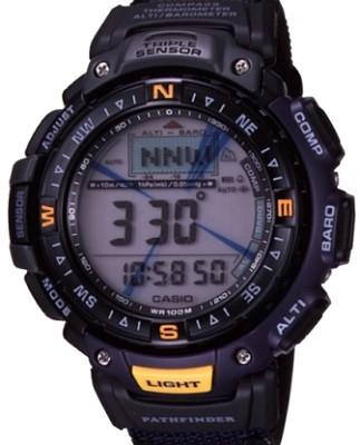 PAG40B-2V - G-Shock Blue Pathfinder Triple Sensor Watch w/ Nylon Band