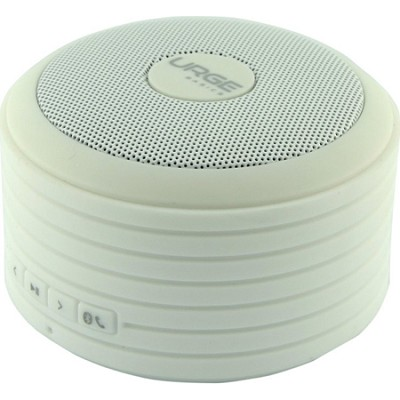 Bluetooth Disc Speaker with Built-In Mic (White)