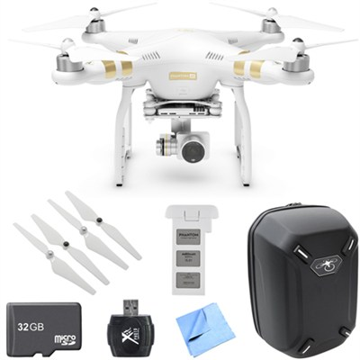 Phantom 3 4K  Quadcopter Drone w/4K Camera Mobile Command Kit  W/ Spare Battery