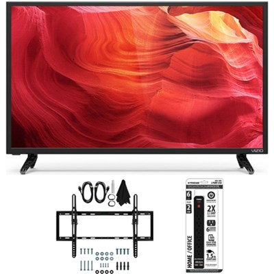 E50-D1 - 50-Inch 120Hz SmartCast LED Smart 1080p HDTV Tilt Wall Mount Bundle