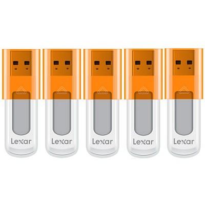 16 GB JumpDrive High Speed USB Flash Drive (Orange) 5-Pack (80 GB Total)
