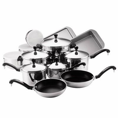 71238 Classic 17-Piece Cookware Set