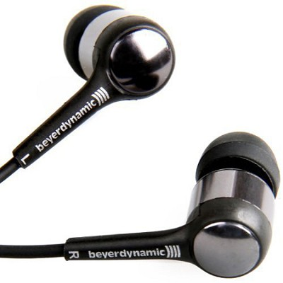 DTX 101 iE In-Ear Headphone - Black - 12 ohm