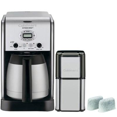 Extreme Brew 10-Cup Thermal Pro Refurb Coffeemaker w/ Refurbished Bundle