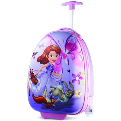 18` Upright Kids Disney Themed Hardside Suitcase - Sofia the First