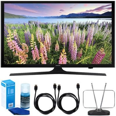 UN50J5000 - 50-Inch Full HD 1080p LED HDTV (2015 Model) w/ Accessory Bundle