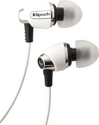 IMAGE S4-WH In-Ear Enhanced Bass Noise-Isolating Headphone, White