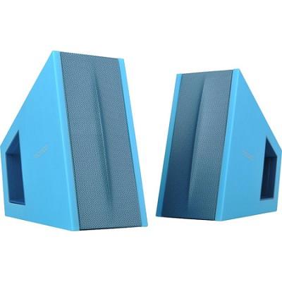 Triangle 2.0 Speaker System w/ Digital Signal Processor (DSP) - Blue