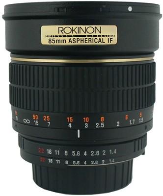 85MAF-N - 85mm f1.4 Aspherical Lens for Nikon DSLR Cameras w/Autto chip OPEN BOX