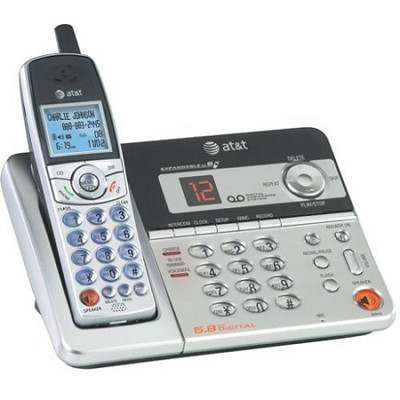 5.8 GHz Digital Expandable Cordless Telephone