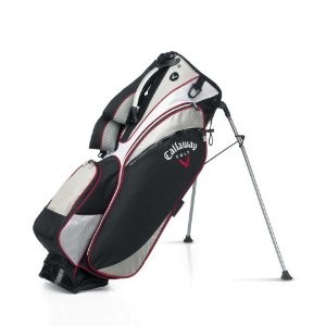 Chev 18 Double Strap Stand Bag  - Black