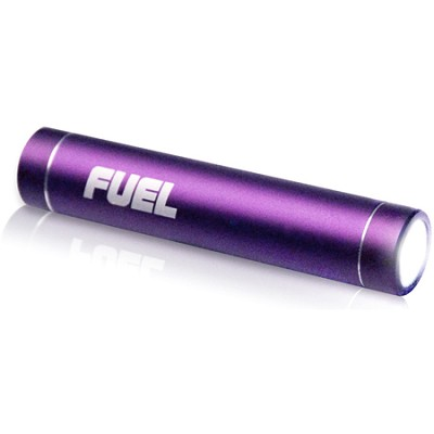 FUEL Active Mobile 2000 mAh Battery w/ LED Flashlight - Purple (PCPA20001PP)