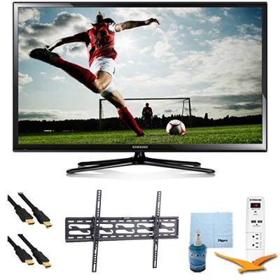 64` Full HD 1080p Plasma HDTV 600Hz Plus Tilting Mount & HookUp Bundle PN64H5000