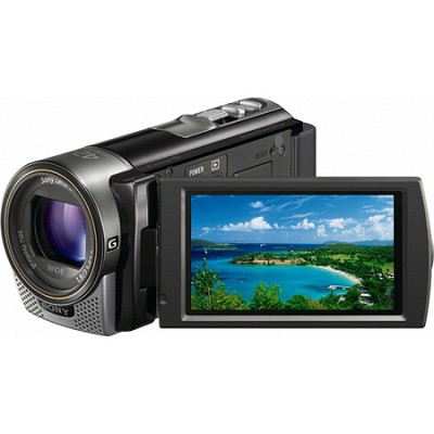 HDR-CX160 Handycam Full HD Black 16GB Camcorder w/ 30x Optical Zoom-OPEN BOX