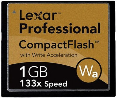 1 GB Professional Series 133X CompactFlash Card
