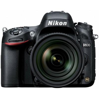 D600 24.3 MP CMOS FX-Format Digital SLR Camera With Nikon 24-85mm f/3.5-4.5G ED