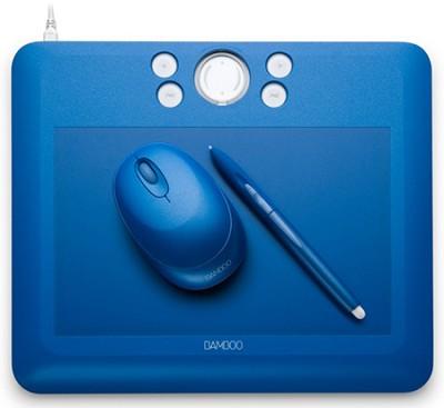 Bamboo Fun Medium Blue Tablet 30.00 Mail In Rebate