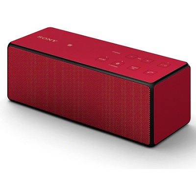 SRS-X3/RED Portable Bluetooth Speaker (Red)