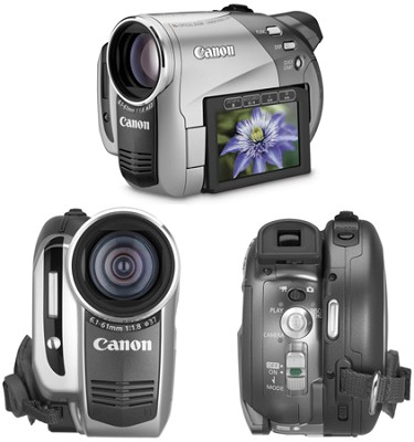 DC-50 Super Slim DVD Camcorder With 10x Optical Zoom