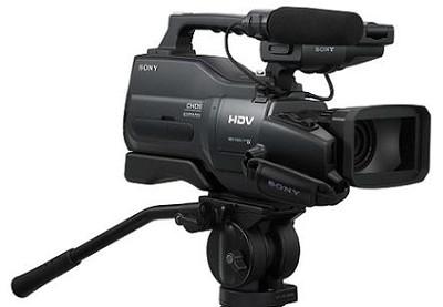 HVR-HD1000U Shoulder-Mount Pro HDV Camcorder