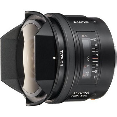 SAL16F28 - 16mm f2.8 Fisheye Lens      **OPEN BOX**
