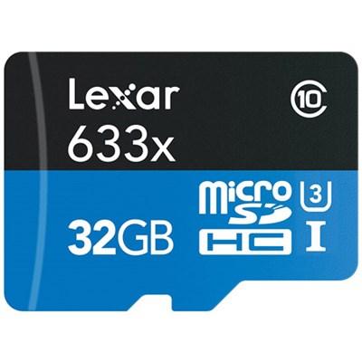 LSDMI32GSBNA633B 32GB Micro SD Card & Reader