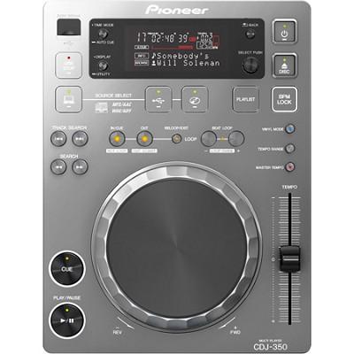 CDJ-350-S Digital Multi-Media Player (Metallic Silver)