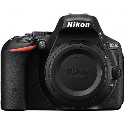 D5500 Black DX-format Digital SLR Camera Body