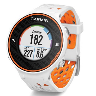 Forerunner 620 Orange/White Bundle with Heart Rate Monitor