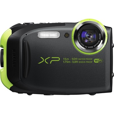 FinePix XP80 16MP Waterproof Digital Camera with 2.7-Inch LCD - Graphite Black