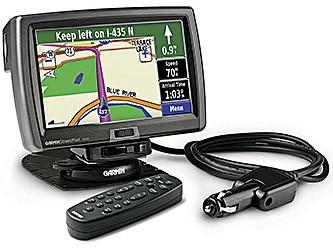 Street Pilot 7500 Automotive GPS Navigation Receiver w/ 7` Touch LCD + DR Cable