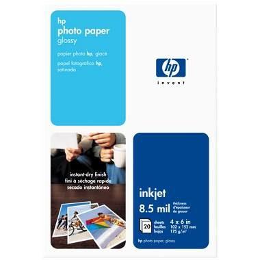 Photo Paper Glossy-Snapshot/20 sheets