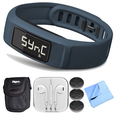 Vivofit 2 Bluetooth Fitness Band (Navy)(010-01503-02) Bundle