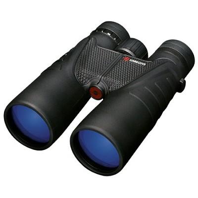 ProSport 10x 50mm Roof-Prism Waterproof/Fogproof Binoculars, Black