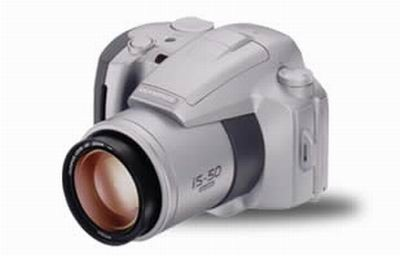 IS-50 QUARTZ DATE CAMERA WITH OLYMPUS USA WARRANTY