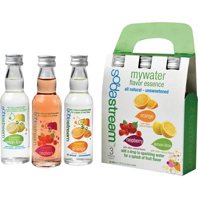 MyWater Variety 3-Pack (1 ea.40ml bottles - LL, Or, Rsp)