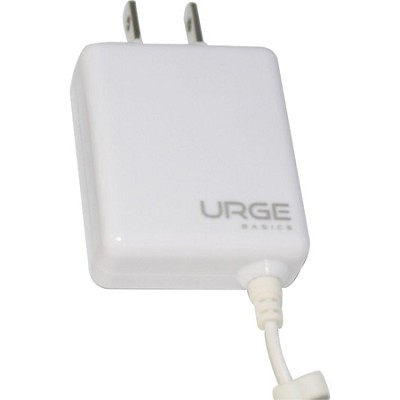 Folding Blade Compact Wall Charger iPhone 5 - White