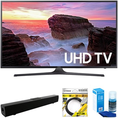 50` 4K Ultra HD Smart LED TV 2017 Model + Soundbar Bundles
