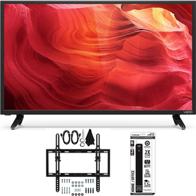 E43-D2 - 43-Inch 120Hz Full-Array SmartCast LED HDTV Flat/Tilt Wall Mount Bundle