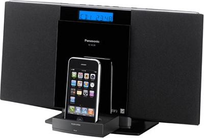 SC-HC20 Compact Stereo System w/ iPod Dock