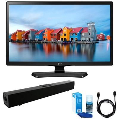 24-Inch Smart LED TV (2017 Model) w/ Bluetooth Sound Bar Bundle