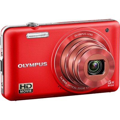 VG-160 14MP 5x Opt Zoom Red Digital Camera