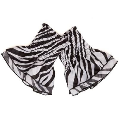 Almost Zebra Ruffle - One Size