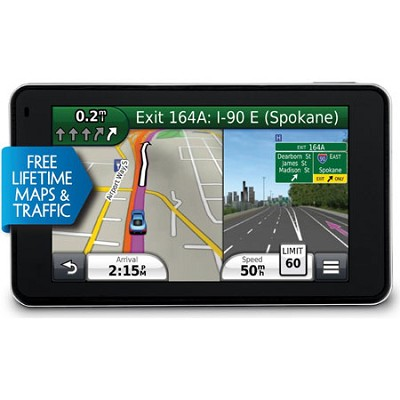 nuvi 3490LMT 4.3` GPS Navigation System with Lifetime Map and Traffic Updates