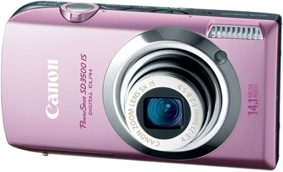 Powershot SD3500 IS 14.1 MP Digital ELPH Camera (Pink)