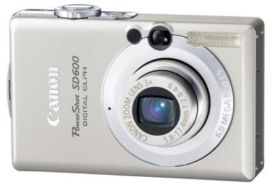 Powershot SD600 Digital ELPH Camera