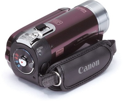 FS100 Flash Memory Camcorder (Garnet Wine)