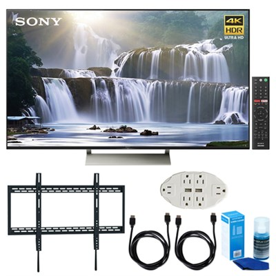 75-inch 4K HDR Ultra HD Smart LED TV (2017 Model) w/ TV Mount Bundle